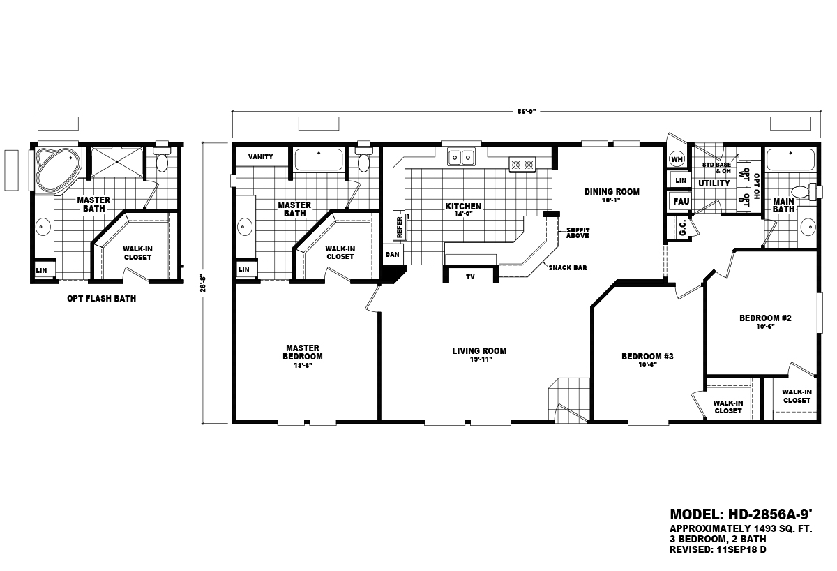 Homes Direct Value - HD-2856A-9