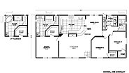 Homes Direct Value HD-2856A-9 Layout