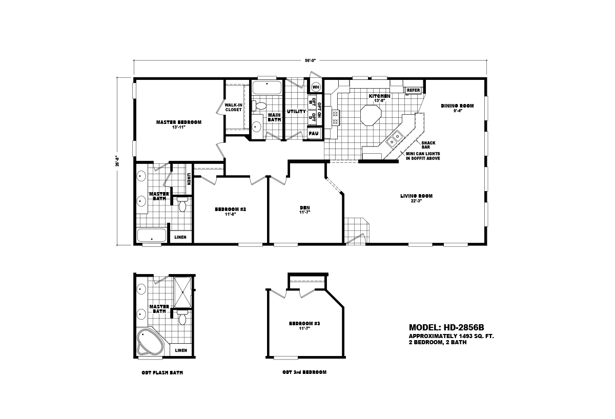 Homes Direct Value - HD-2856B