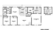 Homes Direct Value HD-2856C Layout
