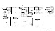Homes Direct Value HD-2856C-9 Layout