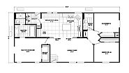 Homes Direct Value HD-2856D-9 Layout