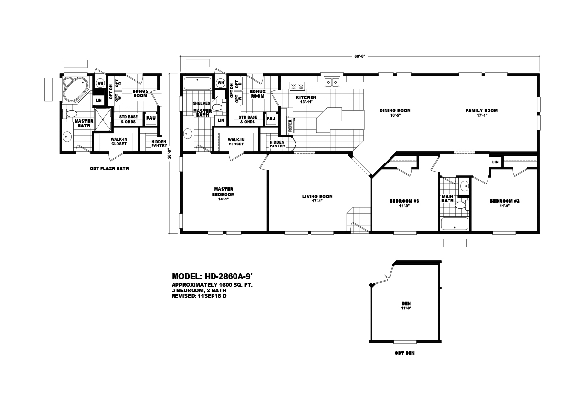 Homes Direct Value - HD-2860A-9
