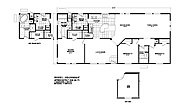 Homes Direct Value HD-2860A-9 Layout