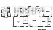Homes Direct Value HD-3260A Layout