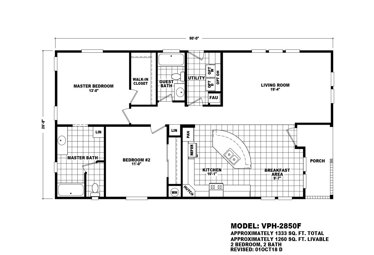 Value Porch - VPH-2850F