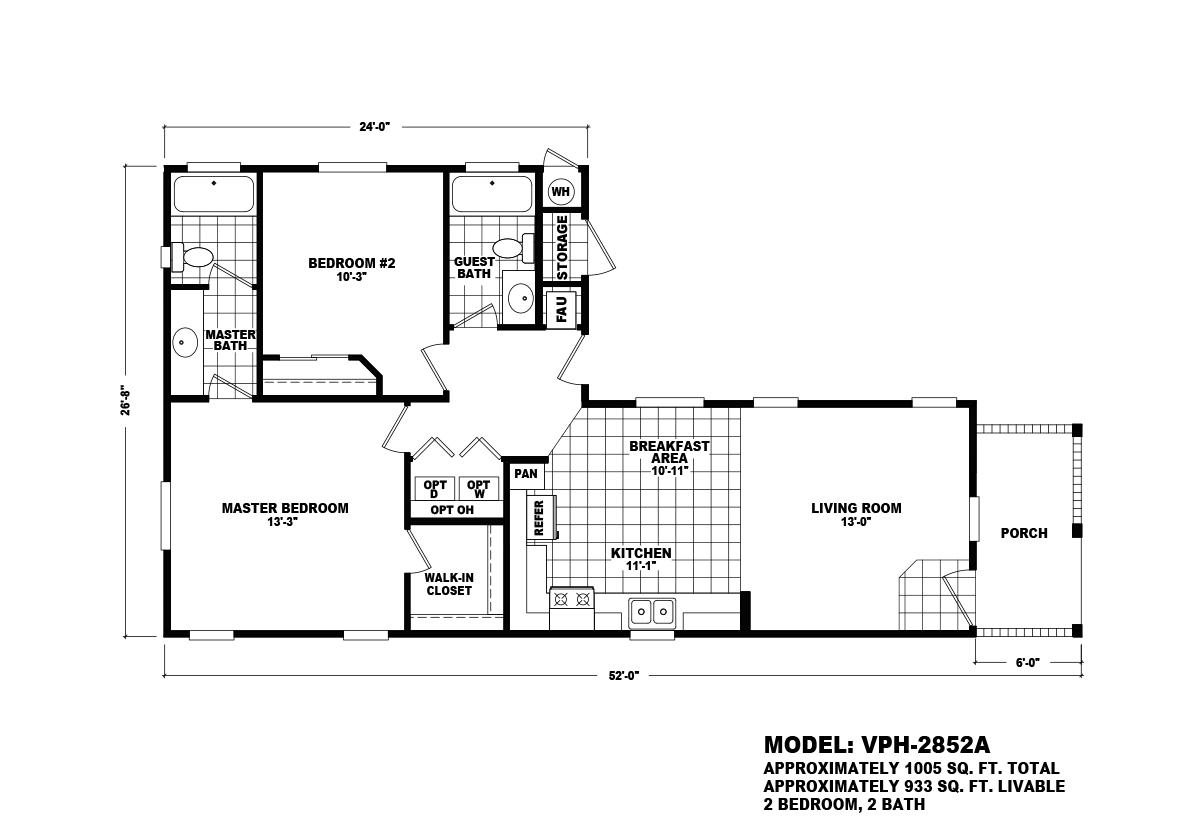 Value Porch - VPH-2852A