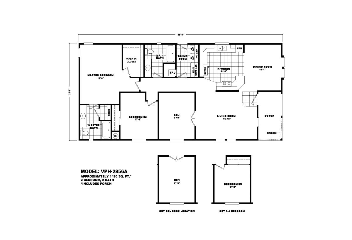 Value Porch VPH-2856A Layout