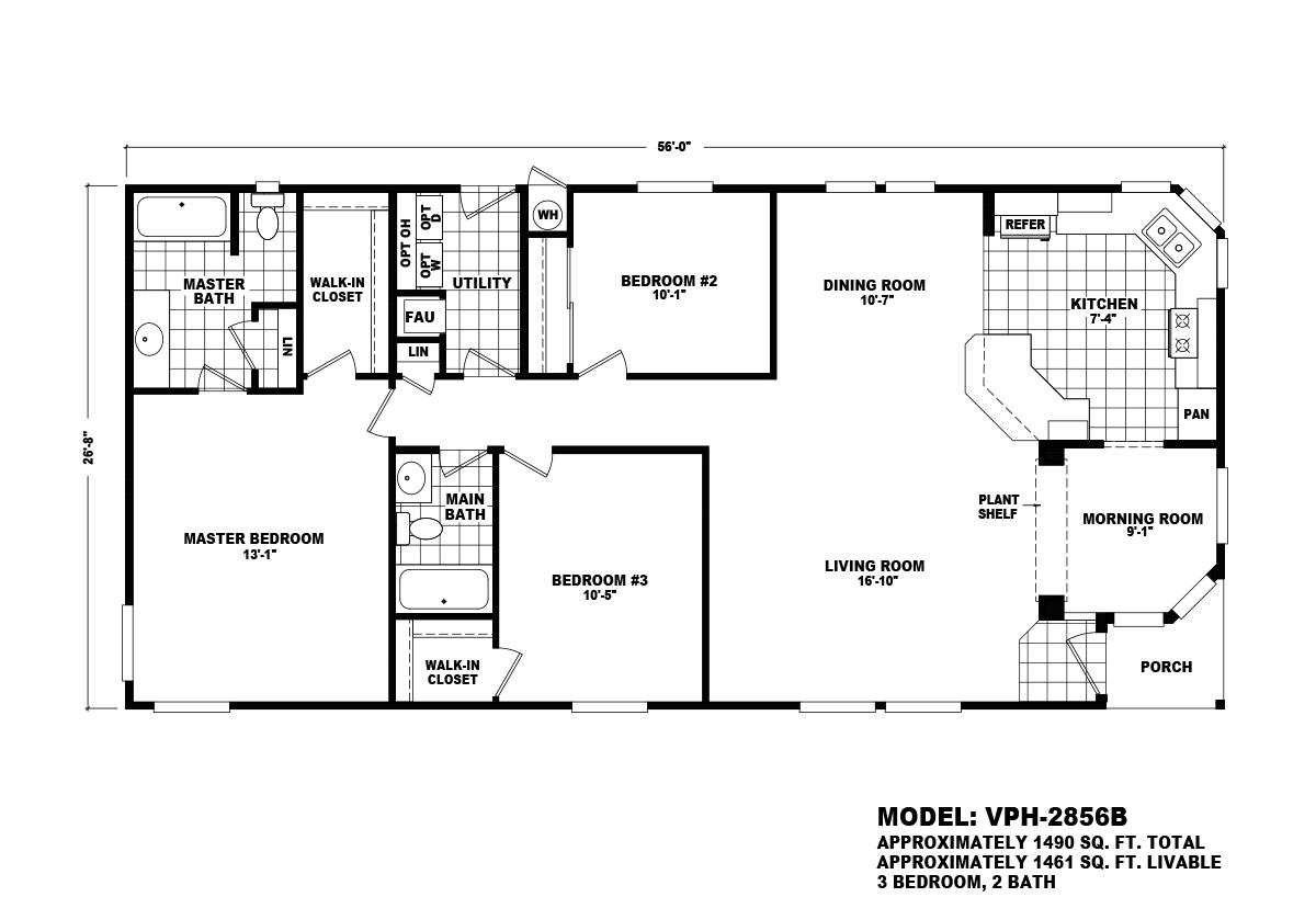 Value Porch - VPH-2856B