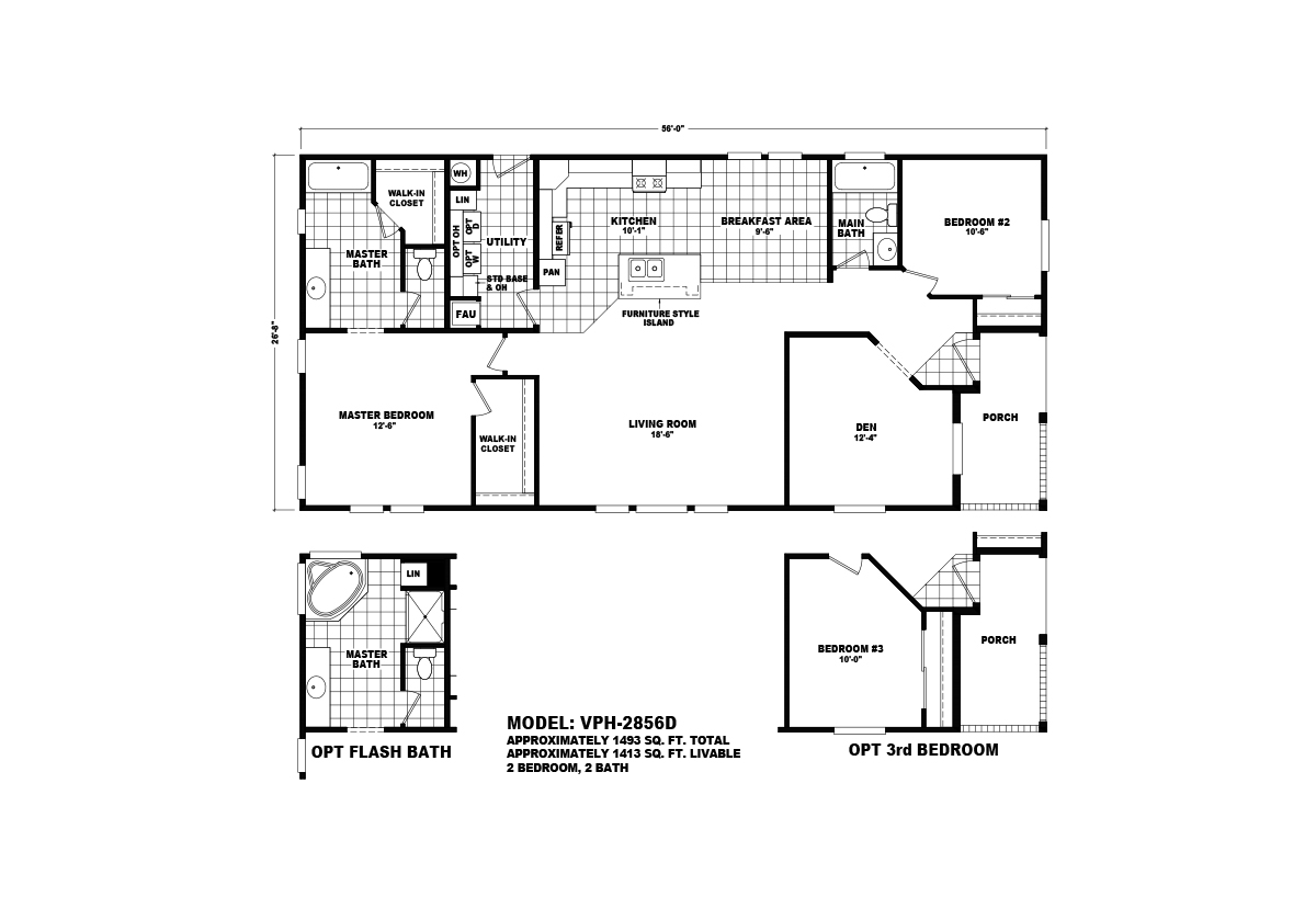 Value Porch - VPH-2856D
