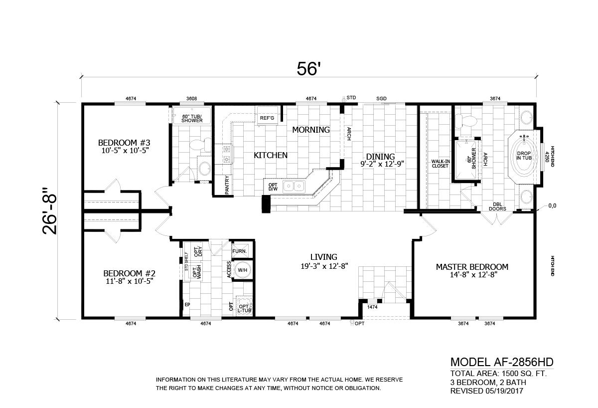 Homes Direct - AF2856HD