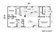 Homes Direct AF2856HD Layout