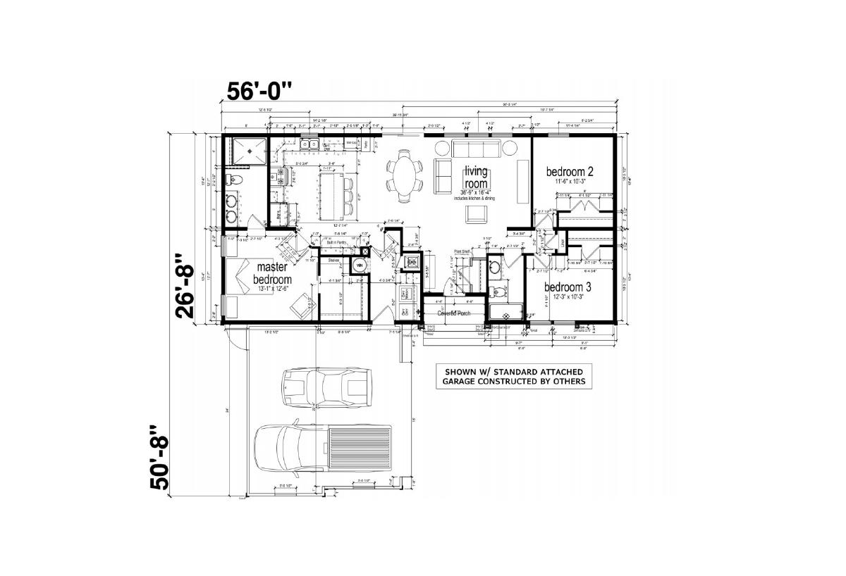 Homes Direct AF2856IBS Layout