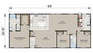 Creekside Manor 4643B Layout