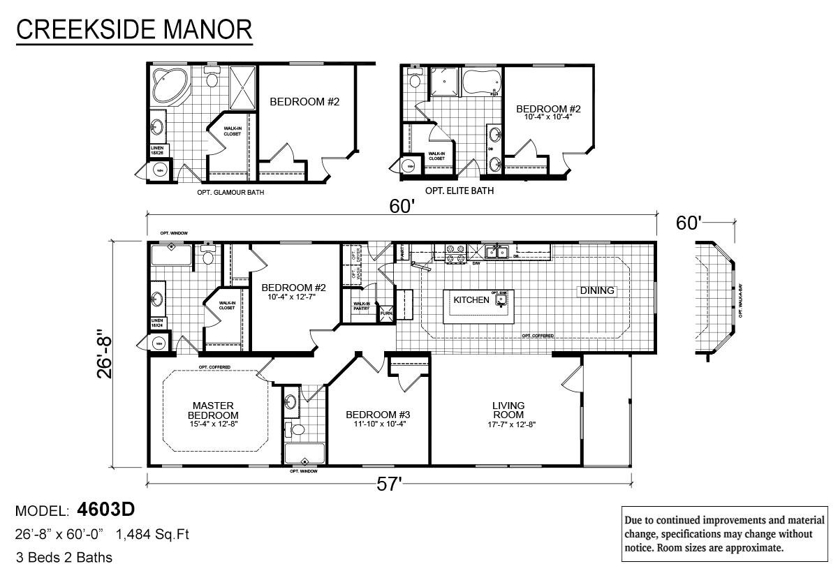Creekside Manor - CM-4603D