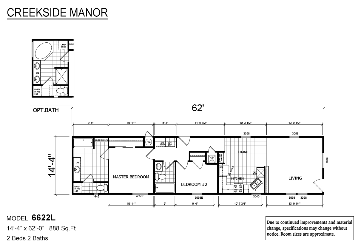 Creekside Manor - CM-6622L
