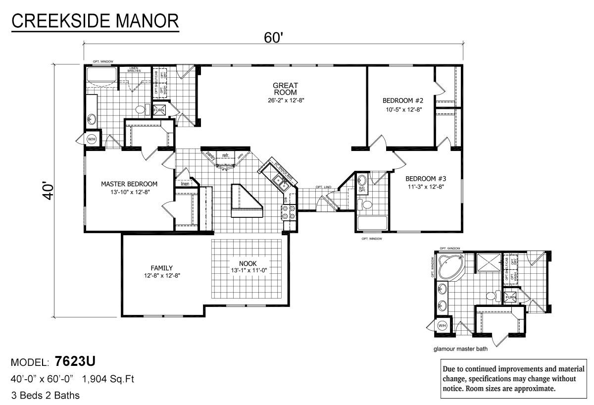 Creekside Manor - CM-7623U