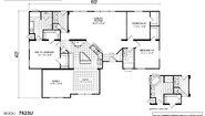 Creekside Manor CM-7623U Layout
