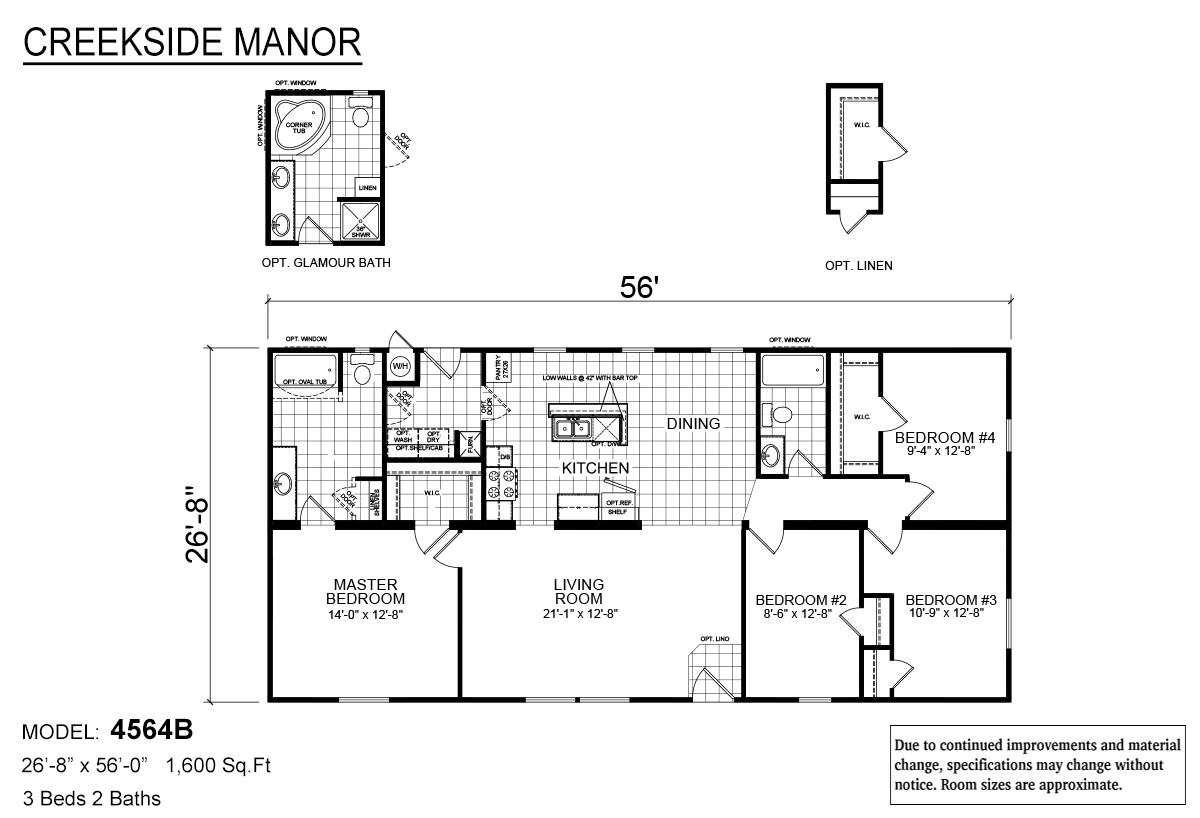 Creekside Manor - 4564B
