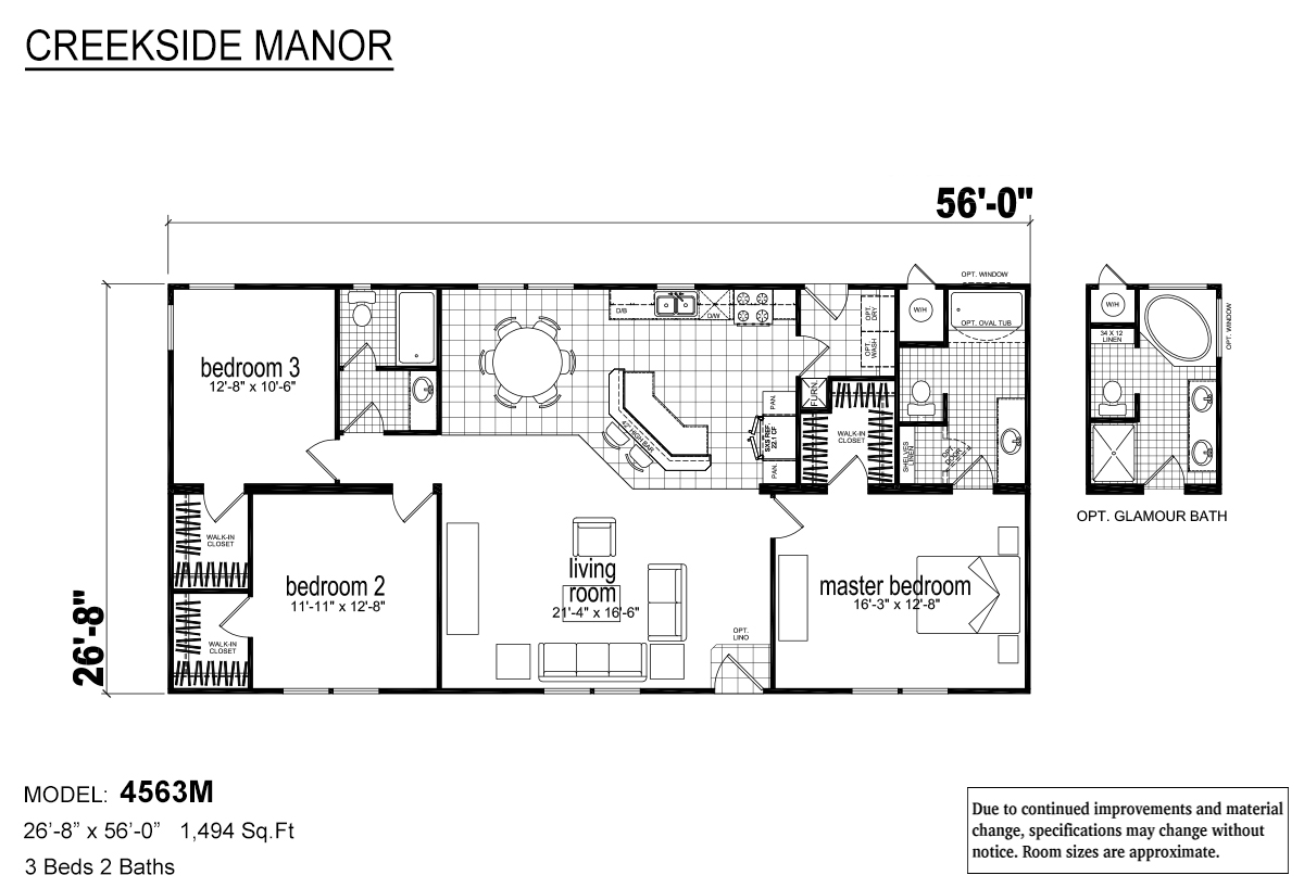 Creekside Manor - CM-4563M