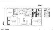Creekside Manor CM-4563M Layout