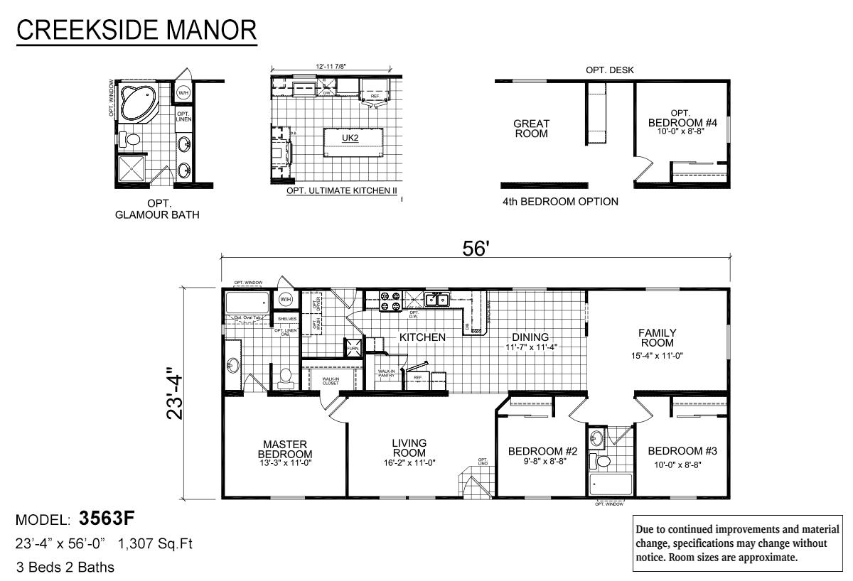 Creekside Manor - CM-3563F