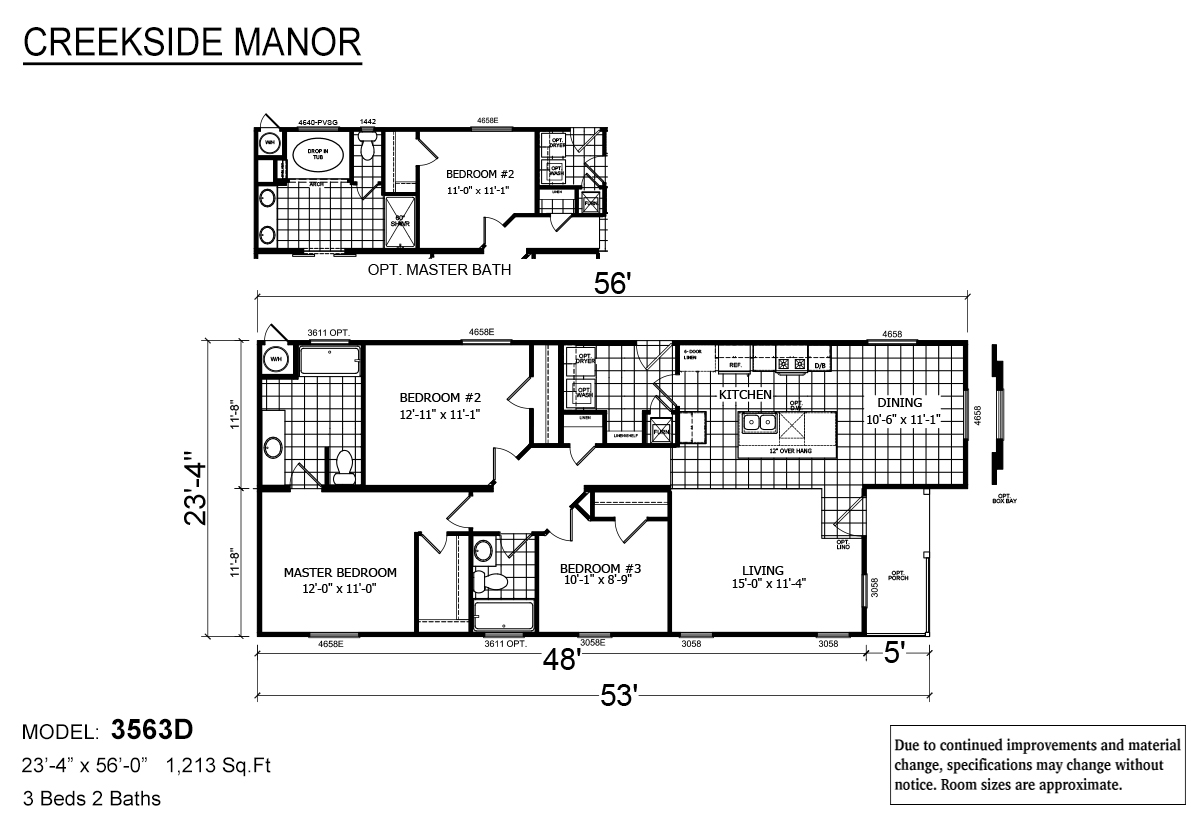 Creekside Manor - CM-3563D
