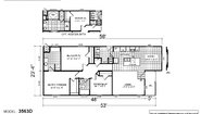 Creekside Manor 3563D Layout