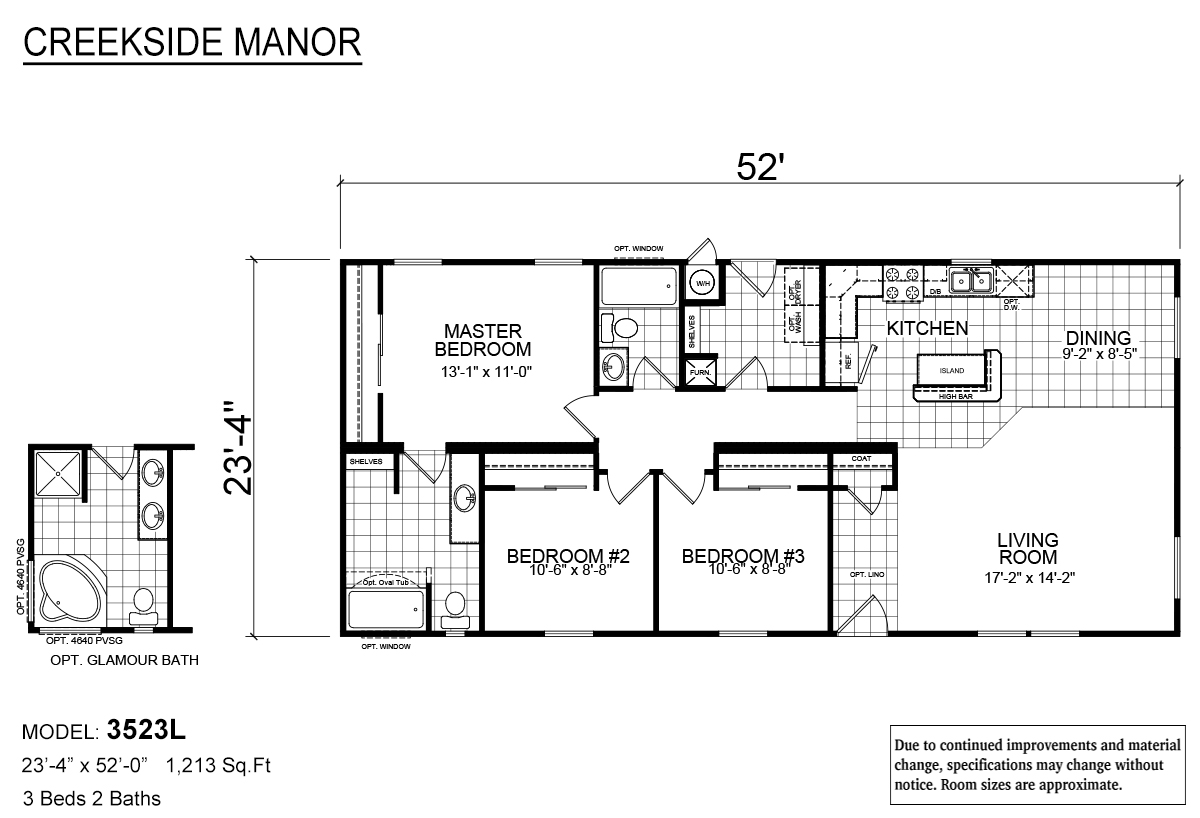 Creekside Manor - CM-3523L