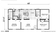 Creekside Manor CM-3483B Layout
