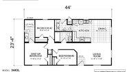 Creekside Manor CM-3443L Layout