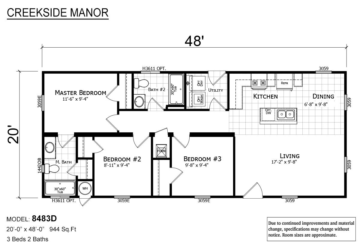 Creekside Manor - CM-8483D