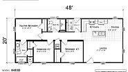 Creekside Manor CM-8483D Layout