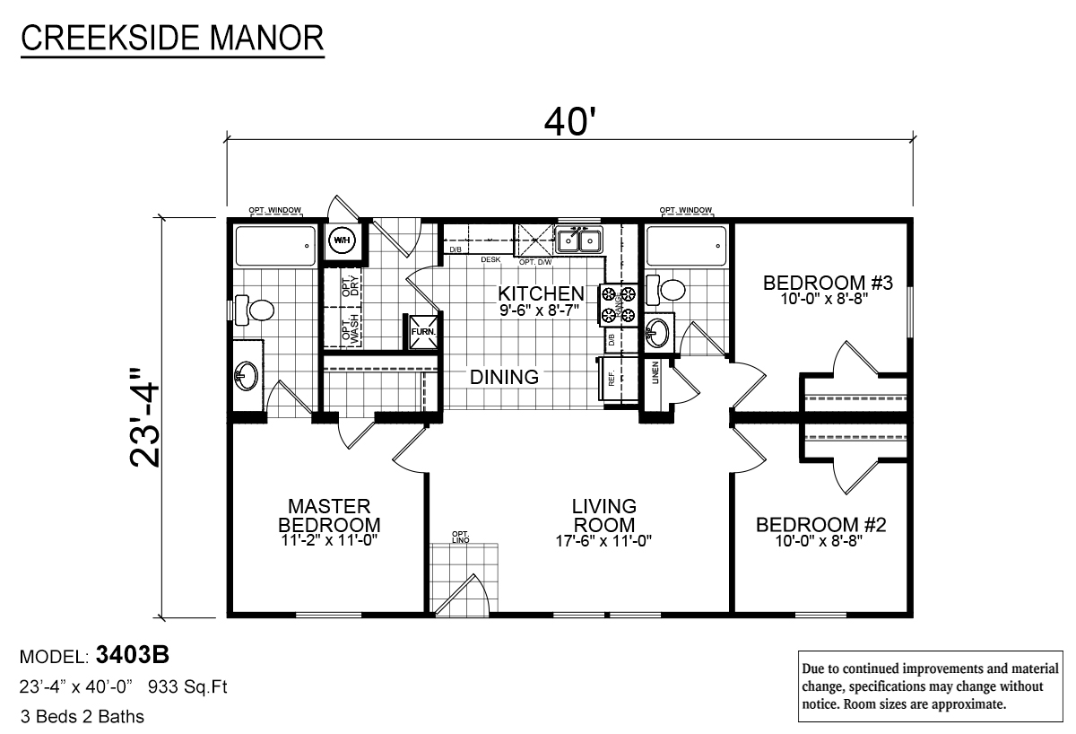 Creekside Manor - CM-3403B