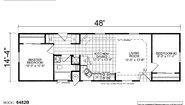 Creekside Manor CM-6482B Layout