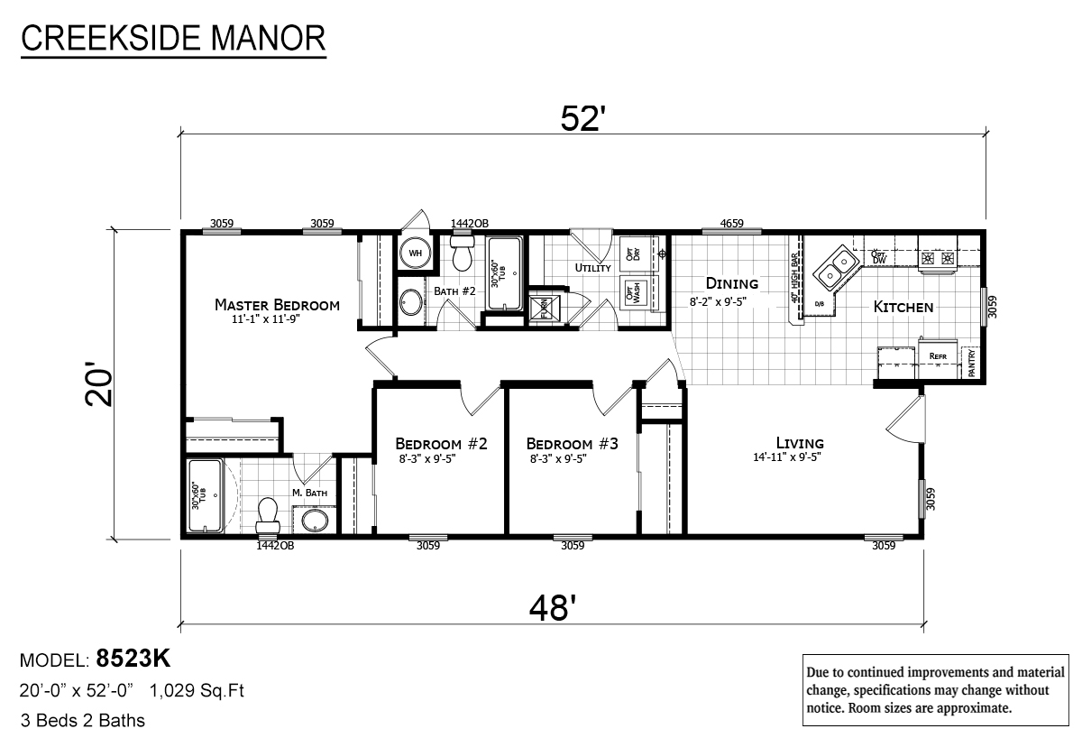 Creekside Manor - CM-8523K