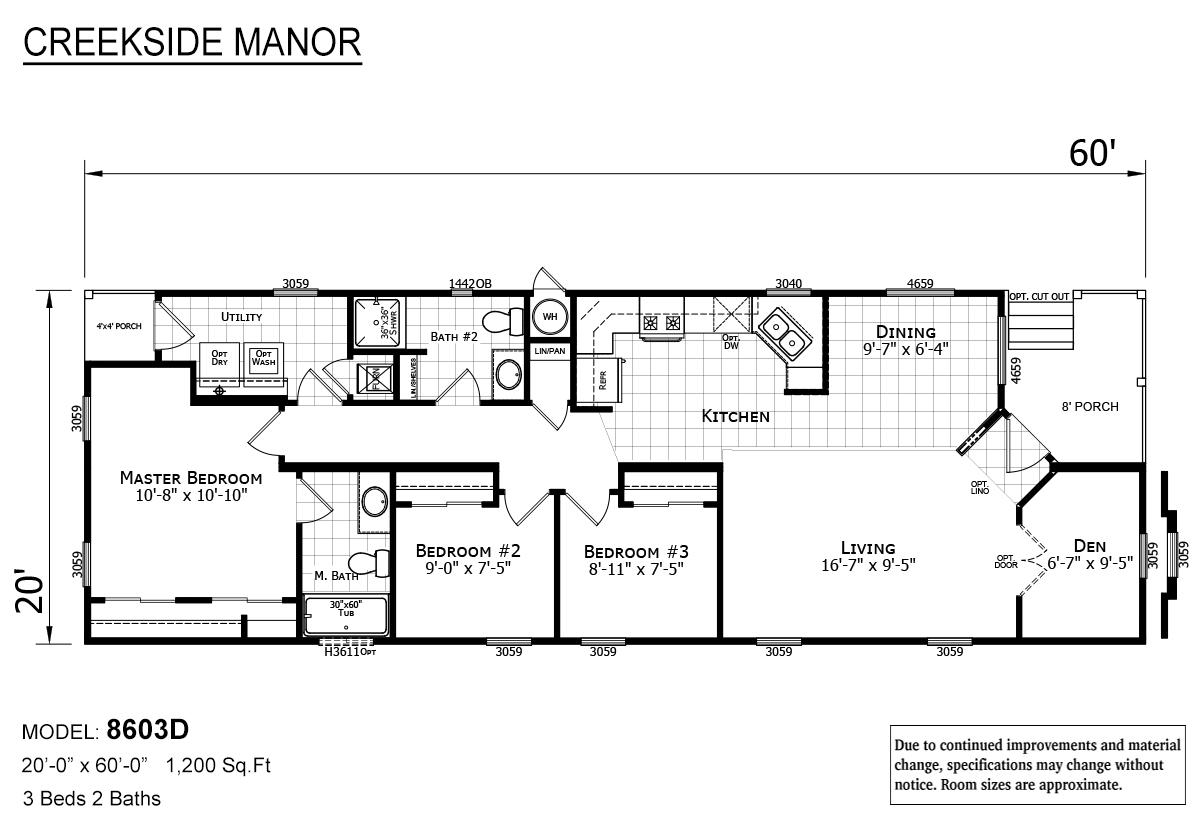 Creekside Manor - CM-8603D