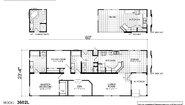 Creekside Manor CM-3602L Layout