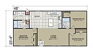 Creekside Manor The Yolo LE3483R Layout