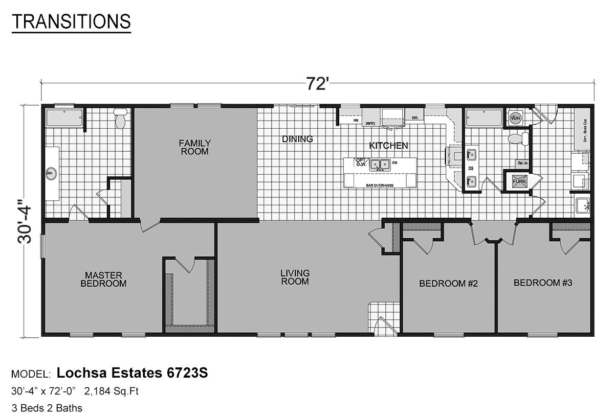 Transitions Lochsa Estates 6723S Layout