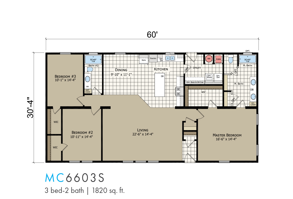 Transitions Mann Creek Estates MC-6603S Layout