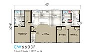 Transitions Clearwater Estates CW-6603F Layout