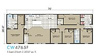 Transitions Clearwater Estates CW-4765F Layout