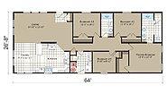 Transitions Crystal Bay Estates CB-4644C Layout