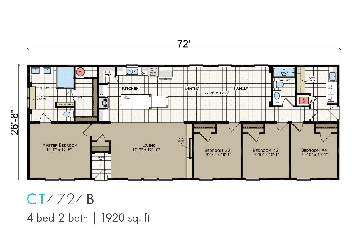 Catena CT-4724B Layout