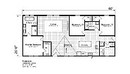 Ascend The Florence 2860H32DRB Layout