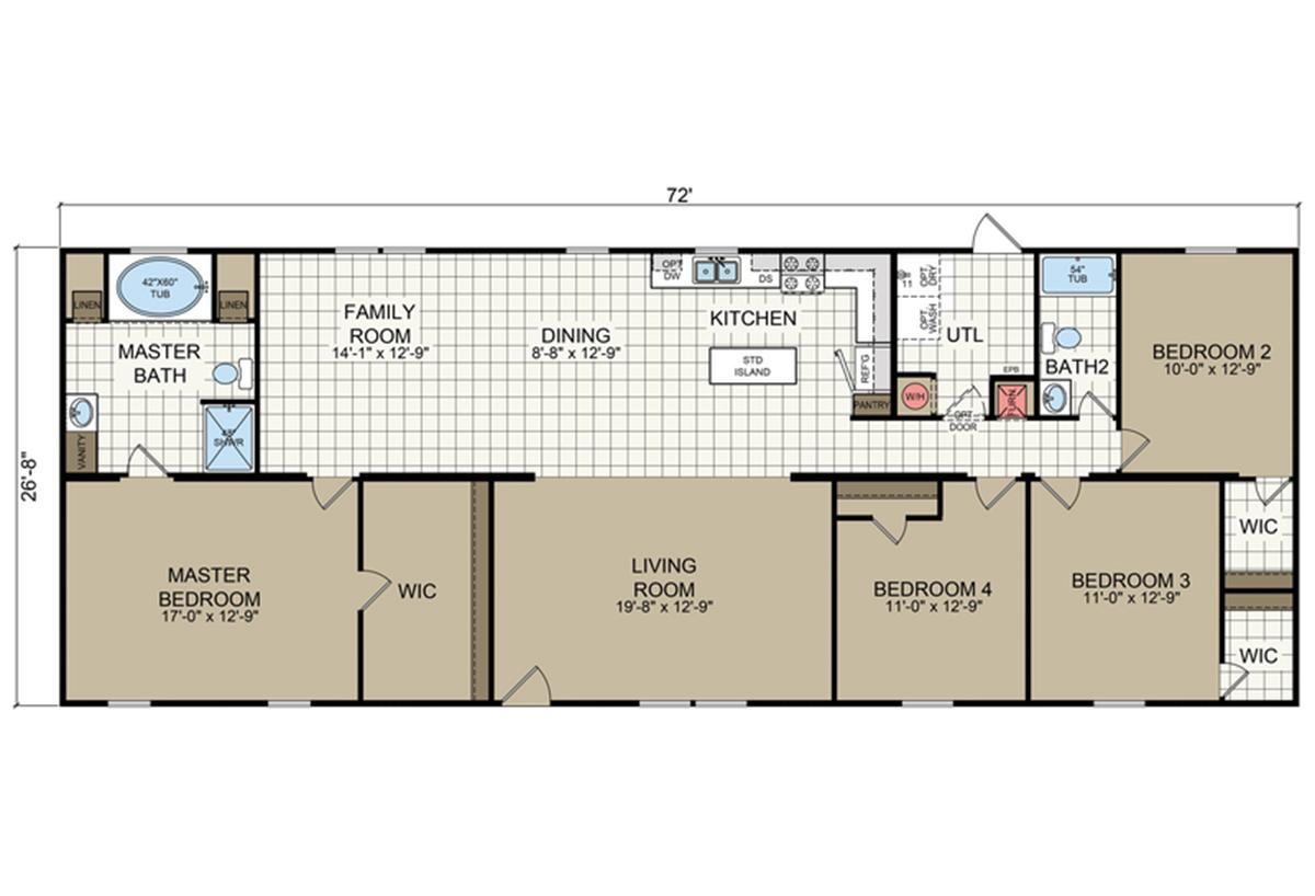 Sheridan RM2872B Layout