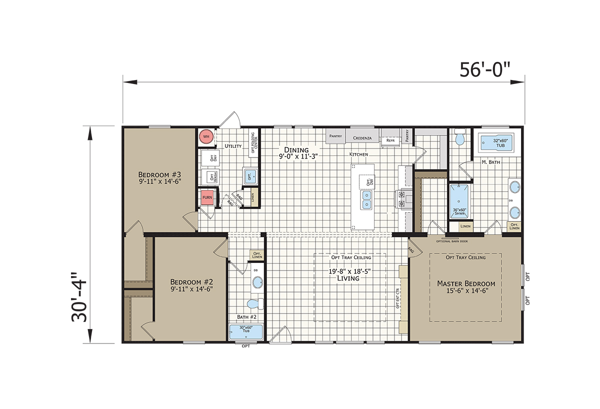 Innovation IN3256N Layout