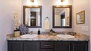 New Moon Sectional A-46653 Bathroom