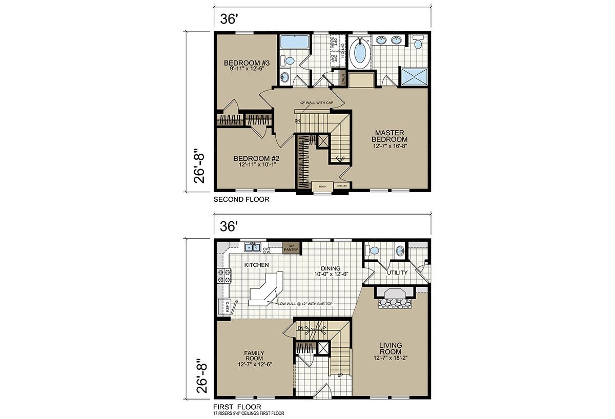 Estate Modular A-93676 Layout